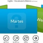 Flashcards gratis online para aprender idiomas como el inglés, francés, italiano o alemán.