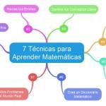 7 Técnicas para Aprender Matemáticas