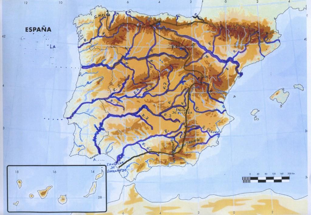 Mapa Rios De España 6 Primaria.Como Estudiar Geografia 6 Tecnicas Para Dominar El Mundo