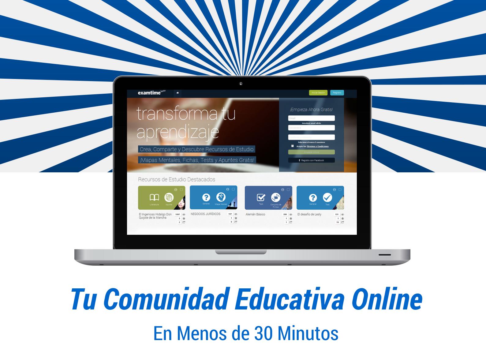C mo crear una comunidad educativa virtual en 30 minutos for Cocinar en 30 minutos