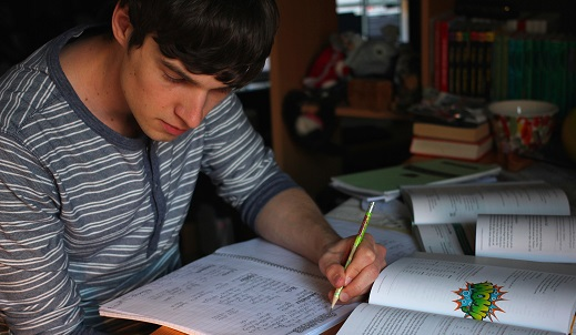 Cómo estudiar para un examen parcial
