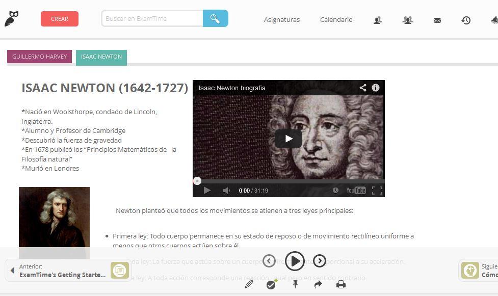 Isaac Newton - Preparatoria Abierta
