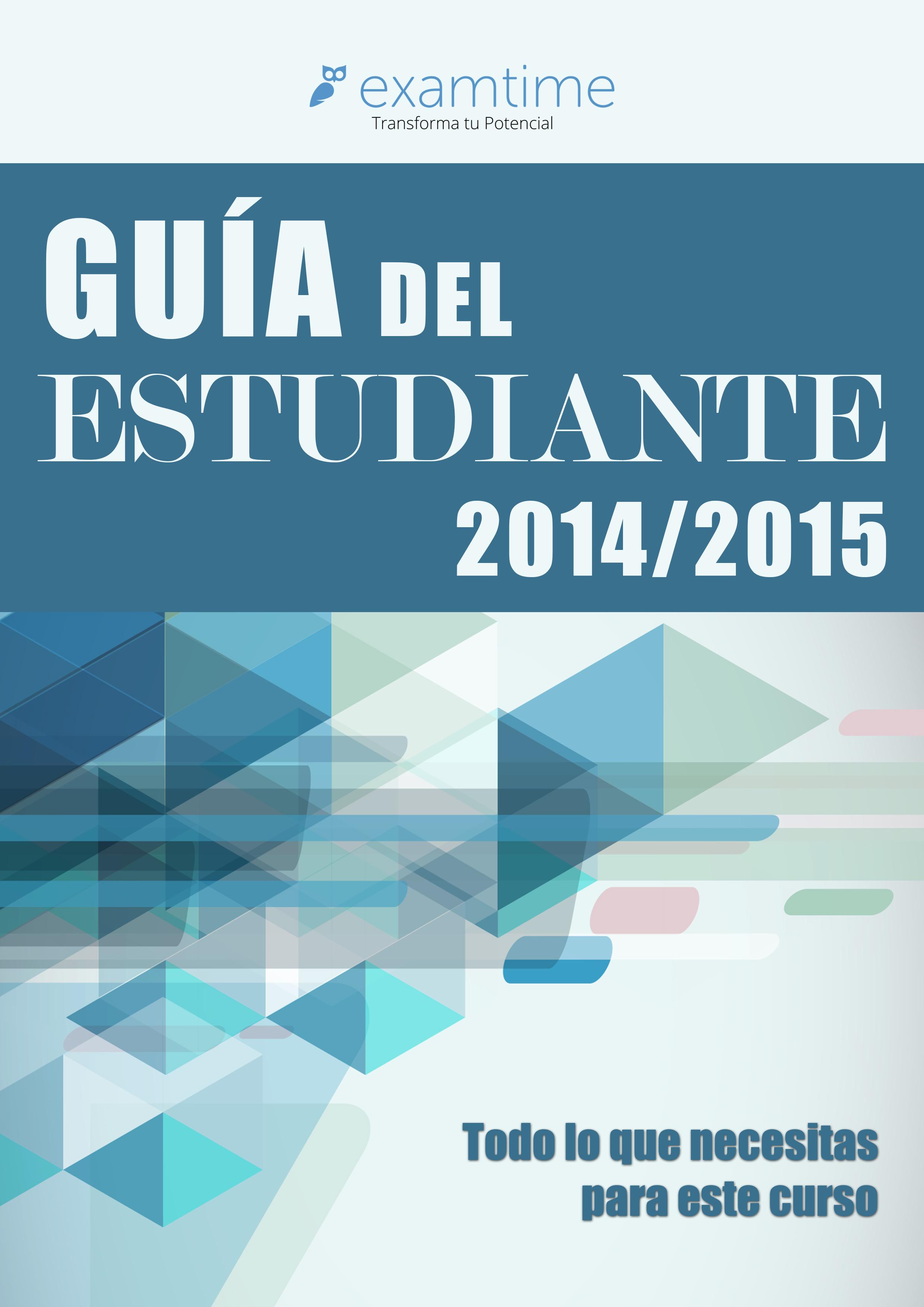 La Guía del Estudiante 2014/15: El Recurso que Estabas Esperando