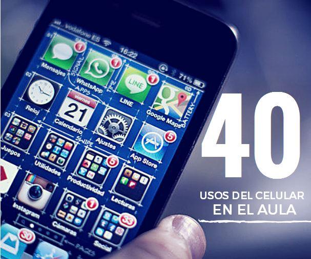 40 Usos del Celular en el Aula   ExamTime   Apps Educativas